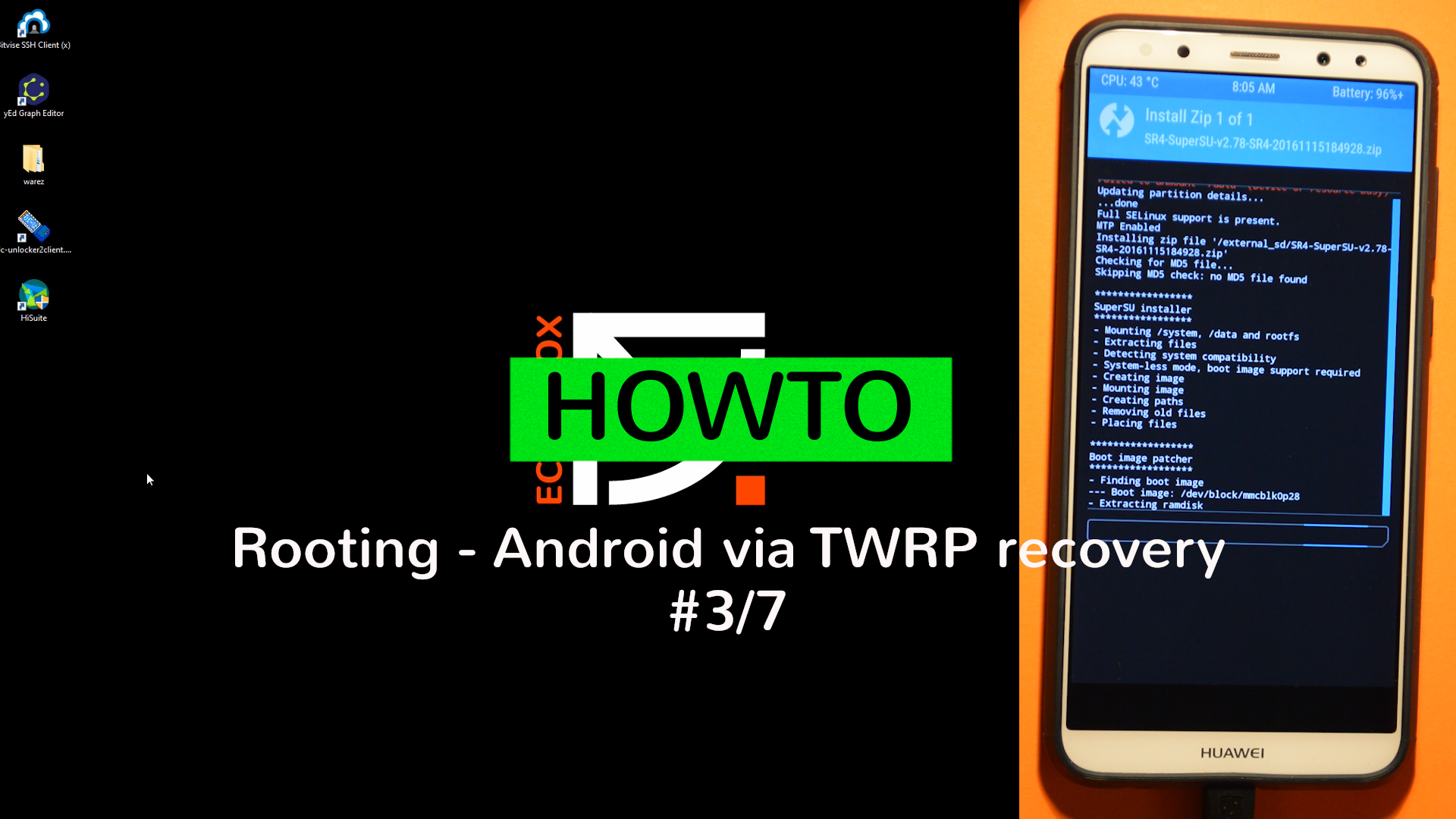 Rooting your device Part #3/5